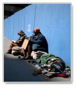 What is a creative title for a term paper on the causes of homelessness ?