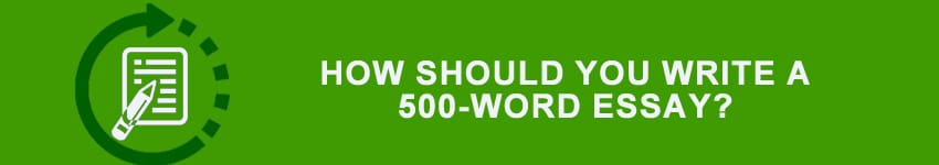 500 hundred word essay